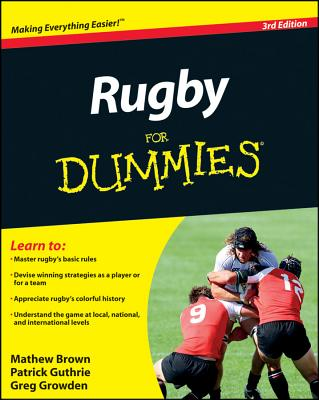 Image for Rugby For Dummies (For Dummies (Sports & Hobbies))