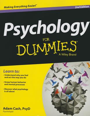 Psychology For Dummies 2nd Edition, Adam Cash