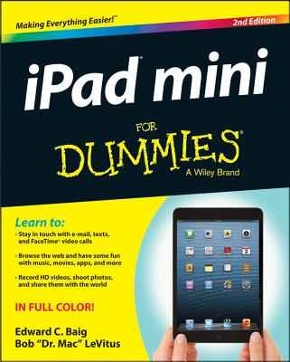 iPad mini For Dummies, Edward C. Baig, Bob LeVitus