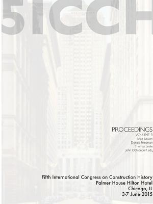 5ICCH Proceedings Volume 3, Friedman, Donald; Bowen, Brian; Leslie, Thomas