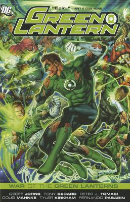 Image for Green Lantern: War of the Green Lanterns