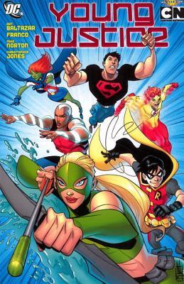 Young Justice Vol. 1, Baltazar, Art