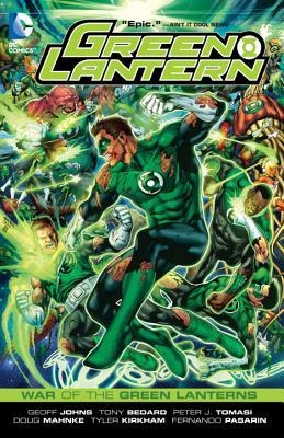 Image for Green Lantern: War of the Green Lanterns