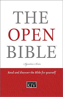 The Open Bible, KJV, Thomas Nelson