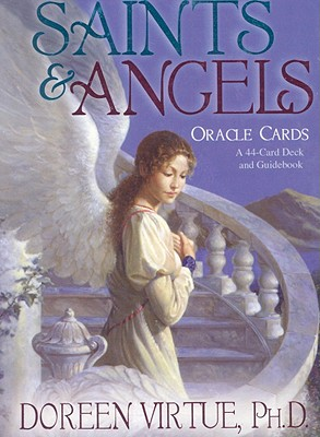 Saints and Angels Oracle Cards: A 44-Card Deck and Guidebook, Doreen Virtue