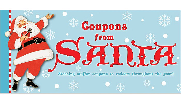 Coupons from Santa: Stocking stuffer coupons to redeem throughout the year!, Sourcebooks