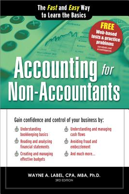 Image for Accounting for Non-Accountants: The Fast and Easy Way to Learn the Basics (Quick Start Your Business)