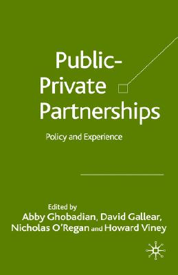 Image for Private-Public Partnerships: Policy and Experience
