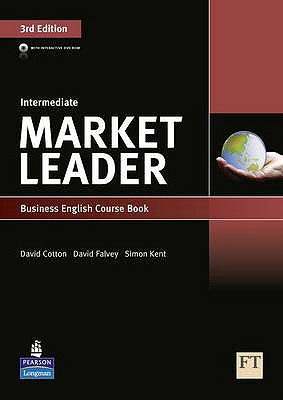Market Leader 3rd Edition Intermediate Coursebook & DVD-ROM Pack, Cotton, David,  Falvey, David,  Kent, Simon