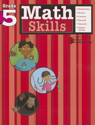 Image for Math Skills: Grade 5 (Flash Kids Harcourt Family Learning)