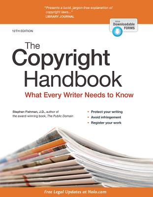 Image for Copyright Handbook, The: What Every Writer Needs to Know