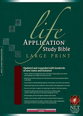 "Image for ""''Life Application Study Bible NLT, Large Print Bonded Leather''"""