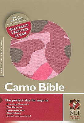 Image for Camo Bible-NLT-Zipper (Pink Camouflage)