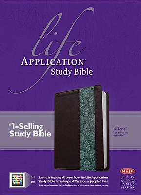 Image for Life Application Study Bible NKJV, TuTone