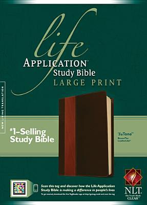 "Image for ""Life Application Study Bible NLT, Large Print, TuTone Imitation Leather"""