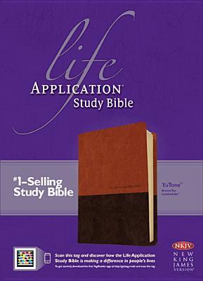 "Image for ""''Life Application Study Bible NKJV, TuTone Imitation Leather''"""