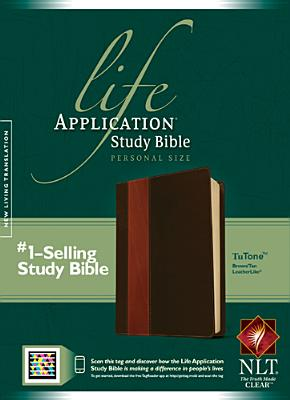 Image for Life Application Study Bible NLT, Personal Size, TuTone