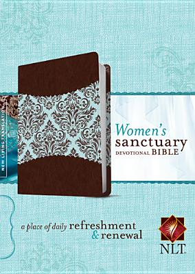 "Image for ""''Womens Sanctuary Devotional Bible NLT, TuTone: A Place of Daily Refreshment and Renewal''"""