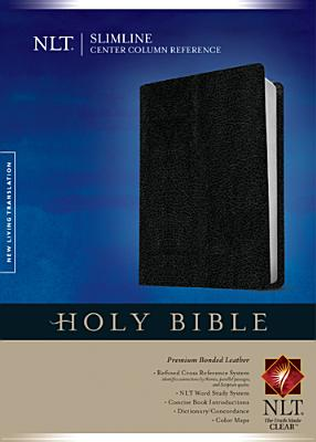 Image for Slimline Center Column Reference Bible NLT