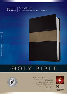 Image for Slimline Center Column Reference Bible NLT