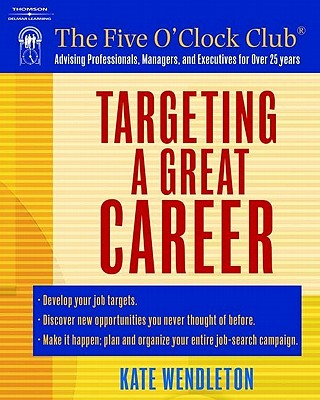 Image for TARGETING A GREAT CAREER
