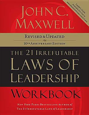 Image for The 21 Irrefutable Laws of Leadership Workbook Revised and Updated