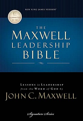 Image for Maxwell Leadership Bible: New King James Version, Dove Gray Leathersoft, Study (