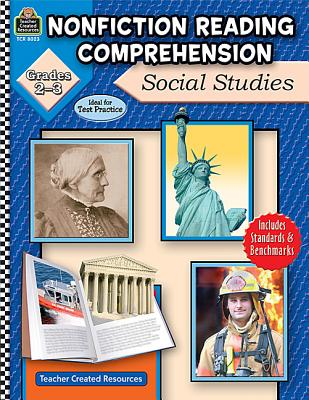 Image for Nonfiction Reading Comprehension: Social Studies, Grades 2-3: Social Studies, Grades 2-3