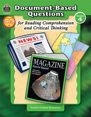 Image for Document-Based Questions for Reading Comprehension and Critical Thinking Grade 4