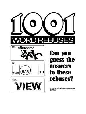 1001 Word Rebuses, Weissinger, Norbert