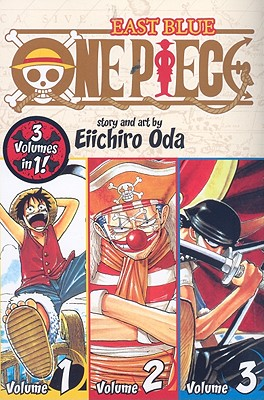 One Piece: East Blue 1-2-3, Oda, Eiichiro