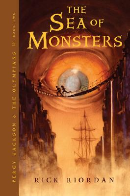 The Sea of Monsters (Percy Jackson and the Olympians, Book 2), Riordan, Rick