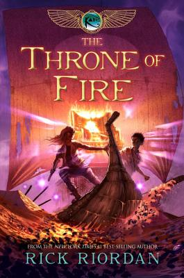 Image for The Throne of Fire (The Kane Chronicles, Book 2) (No dust jacket)