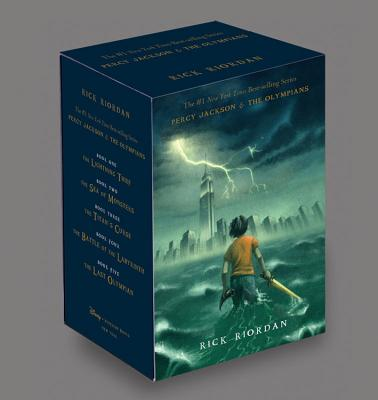 Image for Percy Jackson and the Olympians Hardcover Boxed Set (Percy Jackson & the Olympians)