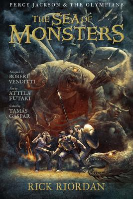 Percy Jackson and the Olympians: Sea of Monsters, The: The Graphic Novel, Rick Riordan, Robert Venditti