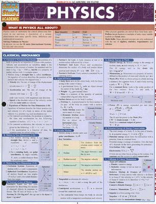 Image for Physics (Quick Study Academic) (Qucik Study Academic)