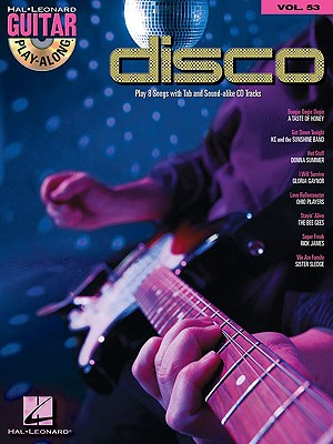 Image for Disco: Guitar Play-Along Volume 53 (Hal Leonard Guitar Play-Along)
