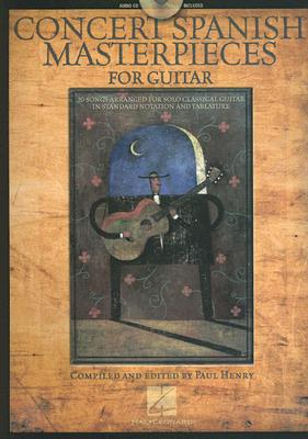 Image for Concert Spanish Masterpieces for Guitar