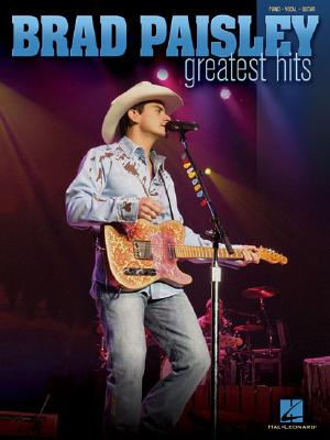 Image for Brad Paisley - Greatest Hits (Piano/Vocal/Guitar Artist Songbook)