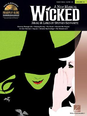 Image for Wicked: Piano Play-Along Volume 46 (Hal Leonard Piano Play-Along)
