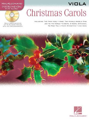 Image for Christmas Carols Viola BK/CD (Hal Leonard Instrumental Play-Along)
