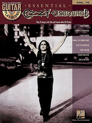 Image for Ozzy Osbourne: Guitar Play-Along Volume 70 (Hal Leonard Guitar Play-Along)