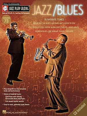 Image for JAZZ/BLUES VOLUME 73 BK/CD   JAZZ PLAY ALONG (Hal Leonard Jazz Play Along Series)