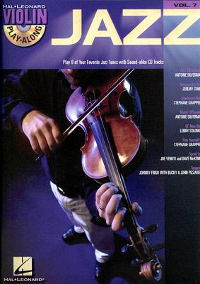 Image for Jazz Vol. 7 Violin Play-Along BK/Online Audio