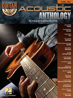 Image for Acoustic Anthology: Guitar Play-Along Volume 80 (Hal Leonard Guitar Play-Along)
