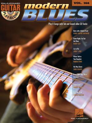 Image for Modern Blues: Guitar Play-Along Volume 166 (Hal Leonard Guitar Play-Along)