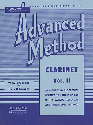 Rubank Advanced Method - Clarinet Vol. 2 (Rubank Educational Library)