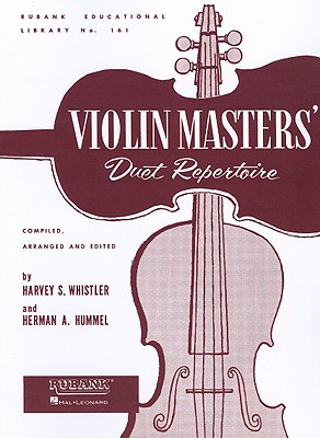 Image for VIOLIN DUET COLLECTIONS -    VIOLIN MASTERS'    DUET      REPERTOIRE (Rubank Educational Library)