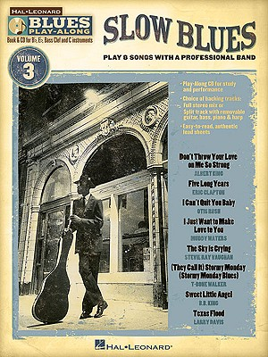Image for Slow Blues: Blues Play-Along Volume 3