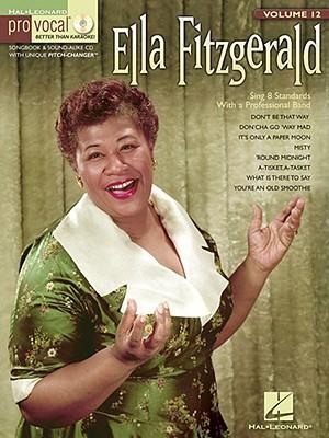 Image for Ella Fitzgerald for Female Singers Pro-vocal Vol.12 Bk/Cd (Hal Leonard Pro Vocal (Numbered))